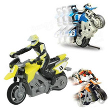 1/43 IR 4 Channel RC Stunt Motorcycle High Speed Competitive Motorcycle(China (Mainland))