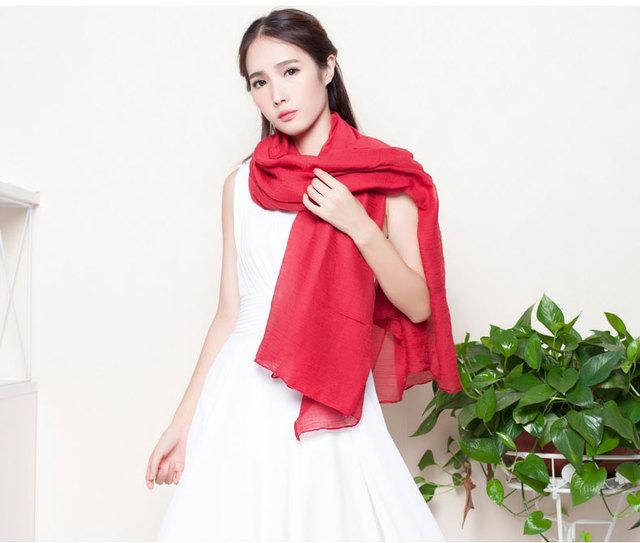 Обычная макси шарф из вискозы шали пашмины хиджаб шарф мусульманский для женщин леди ...