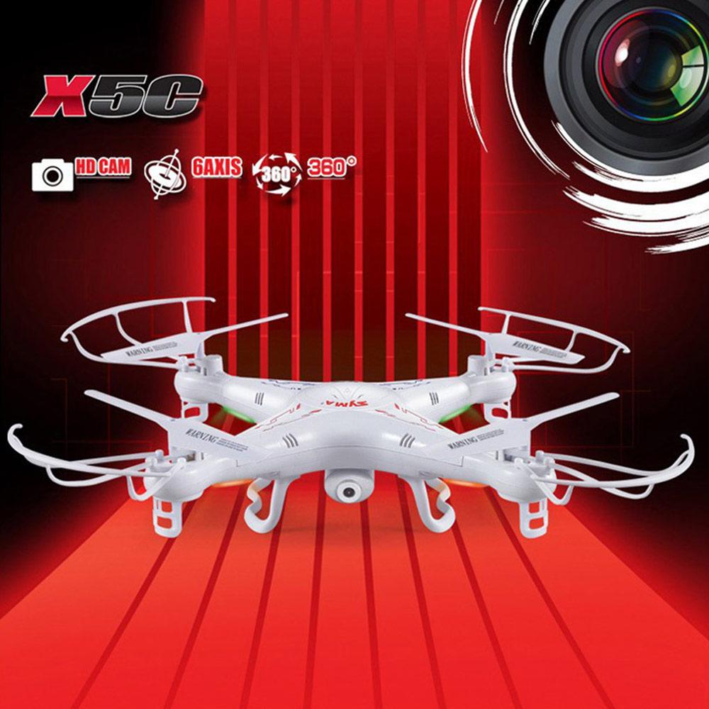 Original Syma X5C X5C-1 4CH 2.4G 6-axis Gyro RC Drone Plane Quadcopter with 2.0MP Camera 4GB Card Nylon Carrying Bag(China (Mainland))