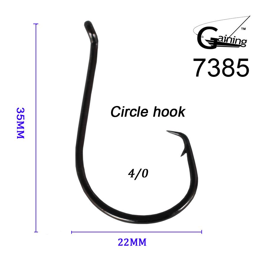 50PCS 4/0 High Carbon Steel Fishhook Barbed Sea Fishing Hooks Fishing Carp Hook Fishing Tackle Large Size 7385 Fish Hooks(China (Mainland))