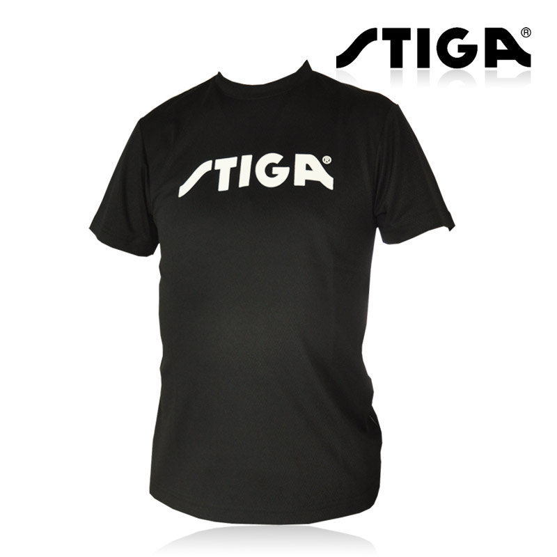 Stiga Original Table Tennis Jerseys Shirts Ping Pong Cloth Sportswear Training T-Shirts(Hong Kong)