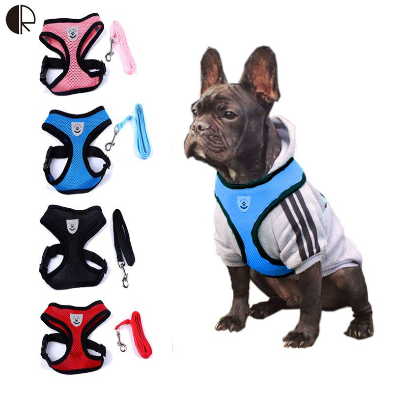 SuperDeal Lovely Cute Small dog Harness Puppy Pet Supplies Chihuahua Leash Lead Set Dog Harness arnes perro Pet Shop dog Collar(China (Mainland))