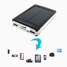 NEW 100000mAh Portable Solar Battery Charger Dual USB External Power Bank Hpt Sale Factory Price(China (Mainland))