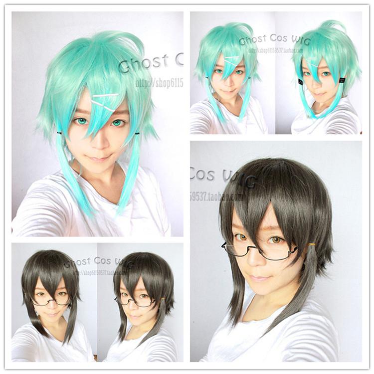Two Colors Optional Sword Art Online Asada Shino Wig Sinon