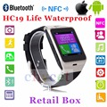 2016 Aplus Bluetooth Smartwatch HC19 NFC Waterproof WristWatch SIM Card Android Watch For iPhone Samsung PK