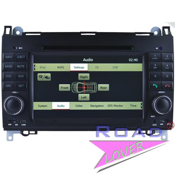 car pc dvd gps navigation for Benz A-class W169 ab2004/W245 ab2004/Viano/Vito ab2006/Sprinter/VW Crafter stereos Audio BT TV RDS(China (Mainland))