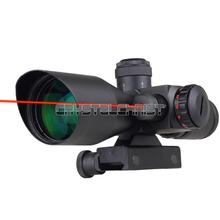 Tactical Red Dot Laser Sight 2.5~10X 40mm Scope Reflex Red / Green Reticle Mount free shipping