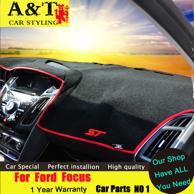 car styling Ford Focus Protection pad dashboard 2012-2015 ST sunscreen protection panel - A & T International Ltd. store