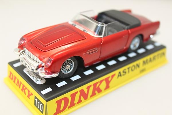 1:43 Atlas Dinky toys 110 Aston Martin DB5 metallic red(China (Mainland))
