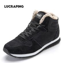 2016 Nuevas de La Manera Mujeres de Los Hombres de Invierno mantienen Cálidas Botas de Nieve felpa del Tobillo de la Nieve botas de Trabajo Zapatos de Las Mujeres Botas de Nieve Al Aire Libre(China (Mainland))