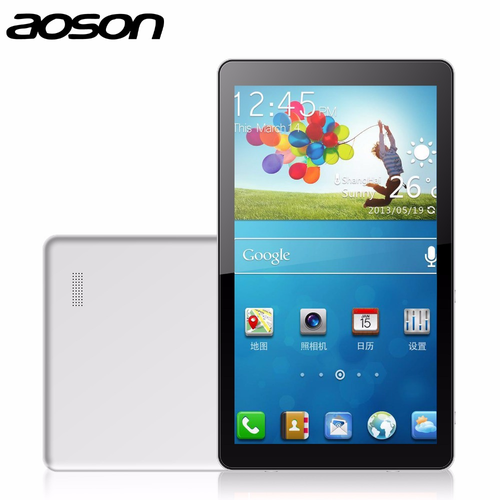 New Version Aoson M1020 Tablet PC 10.1 inch Octa Core AllWinner A83T 1024*600 touch screen tablet 1GB 16GB Android 4.4 Bluetooth(China (Mainland))