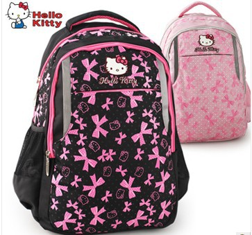 ,2013 hello kitty girl's school bag,child bag,cute backpack,qualited kids backpack book bag fashion - Shining bags store