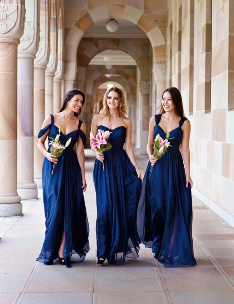 Фасоны платья подружек невесты