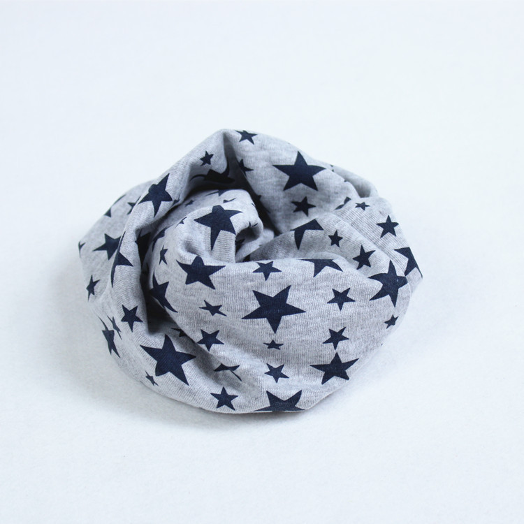 2015 New Fashion Children Comfortable soft cotton Scarf Loop Kids Cubs with hat Infinity Scarves Baby