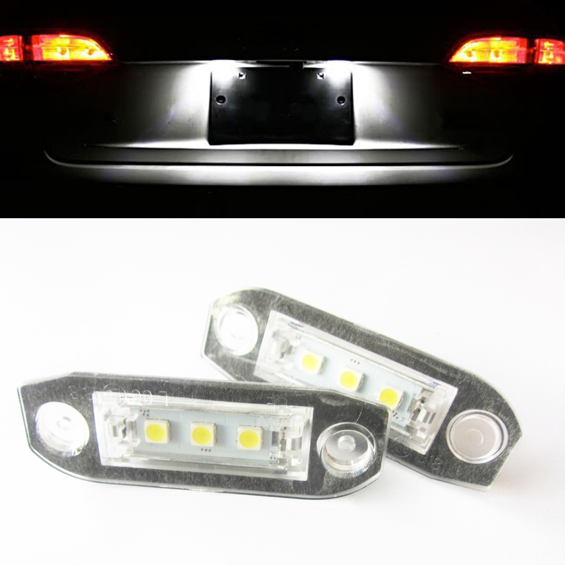how to fix number plate lights