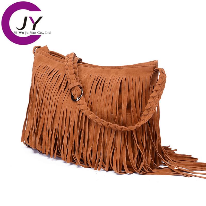 2015 Fashion Fringe Tassel Women's Handbags Women Messenger Bag Lady Cross Body Shoulder - POLG JUYAO official store