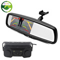 Dual Core Visual Car Video Parking Sensor With Rear View Camera 4 3 TFT LCD Auto