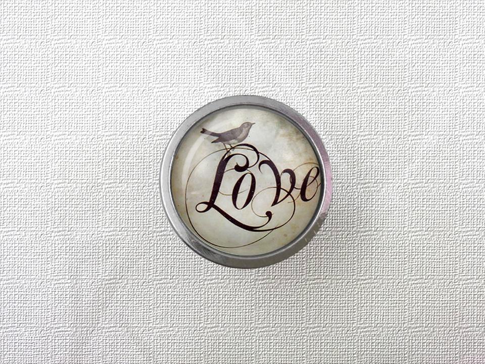 Bird Drawer Knobs Vintage Style DIY Knobs Copper Sliver Bronze Modern Funiture Door Cabinet Handles()