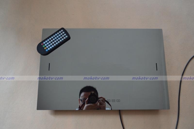 22 inch Deluxe bathroom Mirror TV Waterproof Digital HDTV-Monitor HDMI VGA USB in one , televisor a prueba de agua