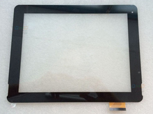 Black New 9.7 inch Touch Screen Panel F-WGJ97104-V2 for PIPO P1 Tablet PC Replacement Digitizer Glass MID Touch PC