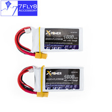 Lipo battery 11.1v 1500mAh 3s 35C max 40C Xpower lithium batteries 2pcs XT60 or T plug for rc drone Helicopter Airplane parts