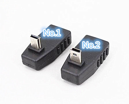 High Quality 90 Degree Down Anlgled USB Female to Mini USB Male Converter OTG Adapter for Car AUX Tablet(China (Mainland))
