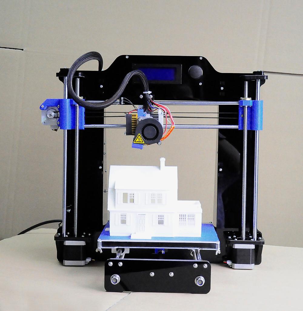 Cost Effective 3D Printer Desktop Printer 3 D DIY KIT Acrylic Framework With Screen Support Offline