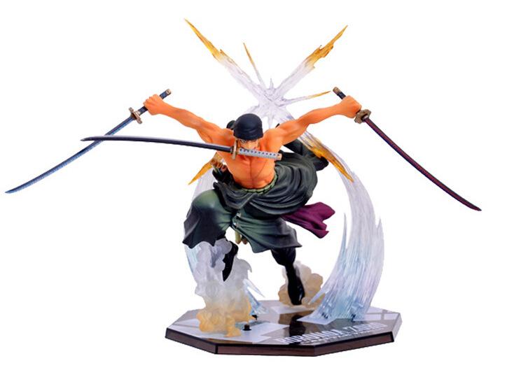 One Piece Popular Roronoa Zoro 17CM Banpresto Action Figure Toy Model Colossum Base Battle Version Anime Toys FREE SHIPPING(China (Mainland))
