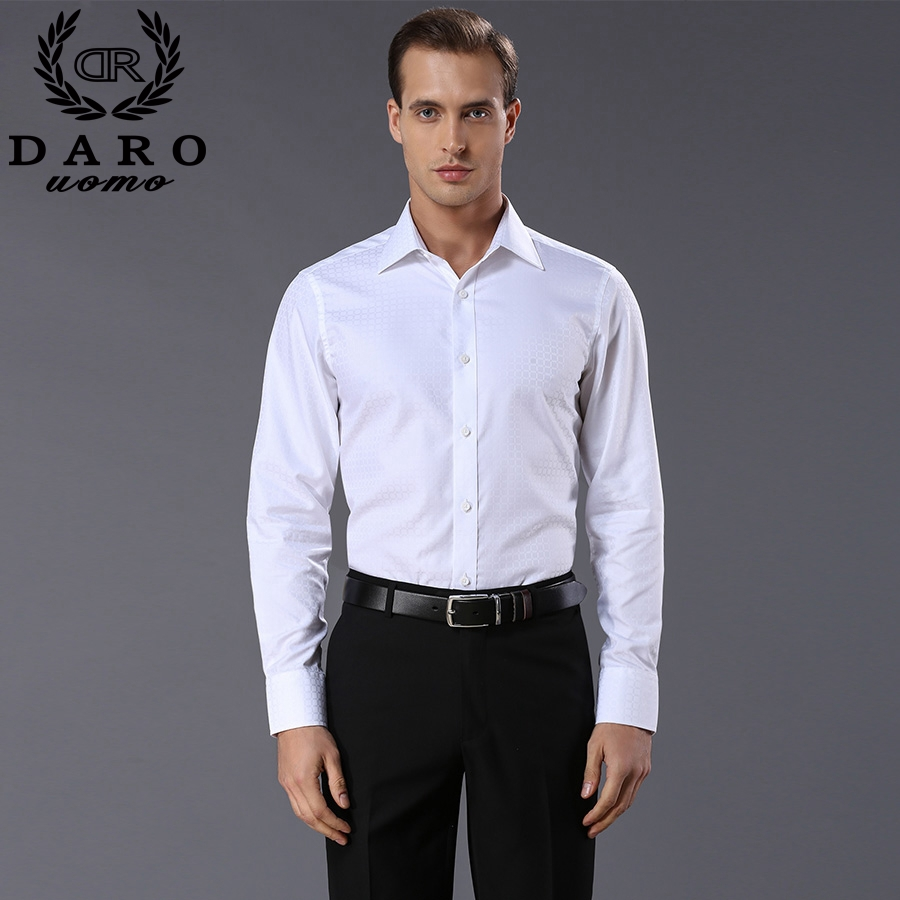 Buy 2016 spring autumn fashion men 39 s Buy white dress shirt
