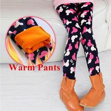 New Girl Winter Pants Casual Trousers Child Thicken Warm Cotton Pants Girls Leggings Teenage Children Clothing For Girl(China (Mainland))