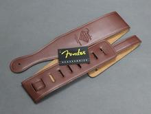 Brown Diamond 60 Anniversary (1946-2006) PU Leather Acoustic Electric Guitar Bass Strap Belt(China (Mainland))