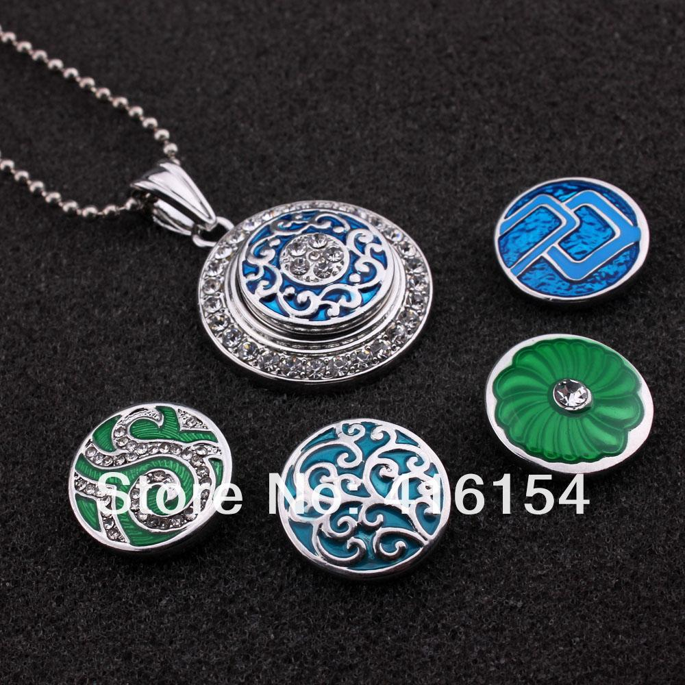 Metal Pendent Jewelry Silver Plated Ginger Snap DIY Button Ship In Random Limited Discount(China (Mainland))
