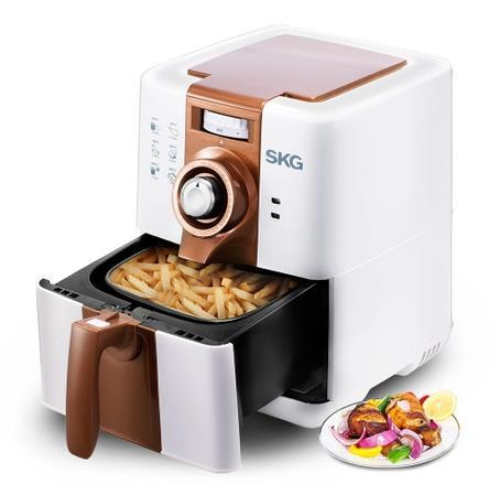 Skg kg4657 air fryer household multifunctional oille electric fryer french fries machine<br>