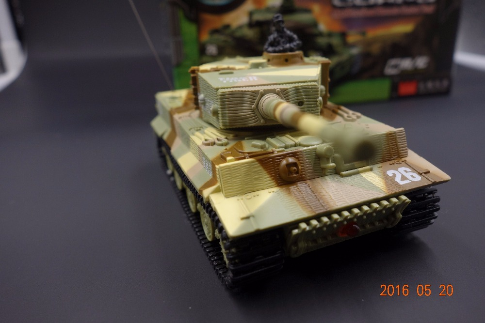 good quality Remote Control Mini Rc German Military Tiger Tank With Sound Toys Kids ACG action figure(China (Mainland))