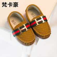 J G Chen 2015 New Autumn boy children shoes single PU leather shoes boys moccasin loafers