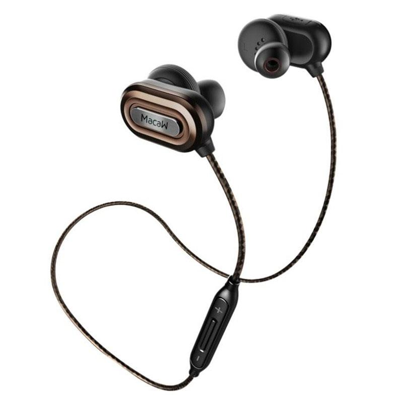 New Macaw T1000 Bluetooth Earphone In Ear Wireless Earbuds Waterproof Earphone Stereo Auriculares font b Running