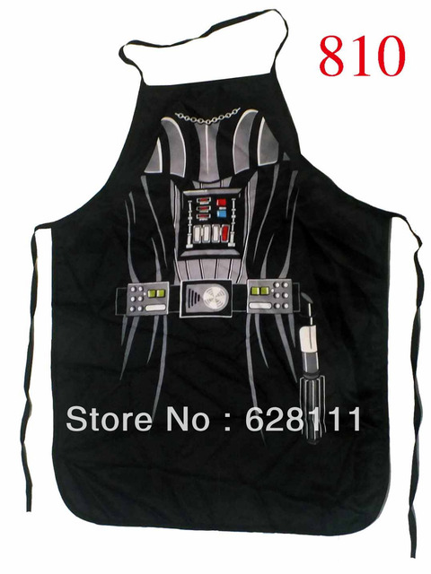 """Newest Novelty cooking kitchen apron Black Knight Darth Vader unisex adult DINNER PARTy Product 22""""*28"""" free shipping"""