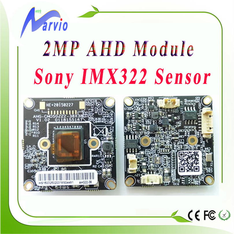 1080P 2.0MP (Million Pixel) AHD Sony IMX322/IMX222 sensor good night vision image WDR with multi-launguage OSD, free shipping(China (Mainland))