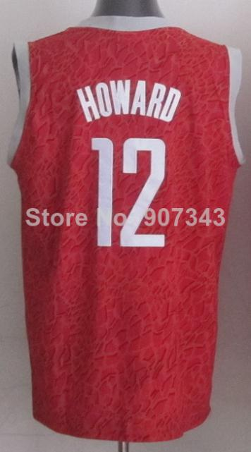 2016 #12 Dwight Howard Jersey,Limited Basketball Jersey,Top quality,Authentic Jersey,Size S--XXXL,Accept Mix Order(China (Mainland))