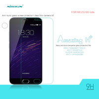 Free Shipping Original Nillkin Amazing H+ Anti-Explosion Tempered Glass Screen Protector Film for MEIZU M2 note