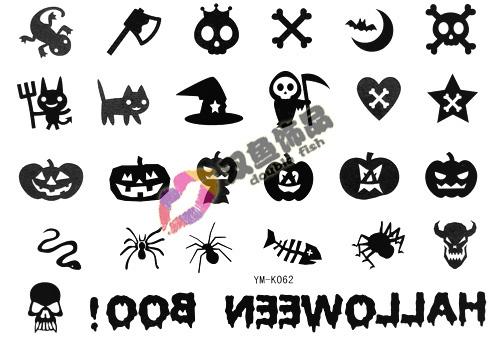 Small Halloween Tattoos Tattoo Sticker Halloween