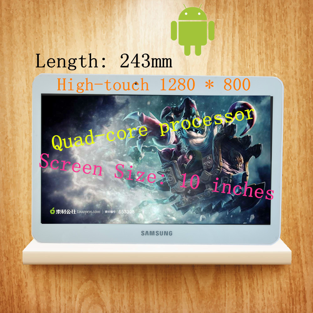 Sam sung send 64G memory 10-inch Andrews Tablet PC Android4.4 2G * 32G HD 1280 * 800 3G phones GPS 500 million pixel quad-core(China (Mainland))