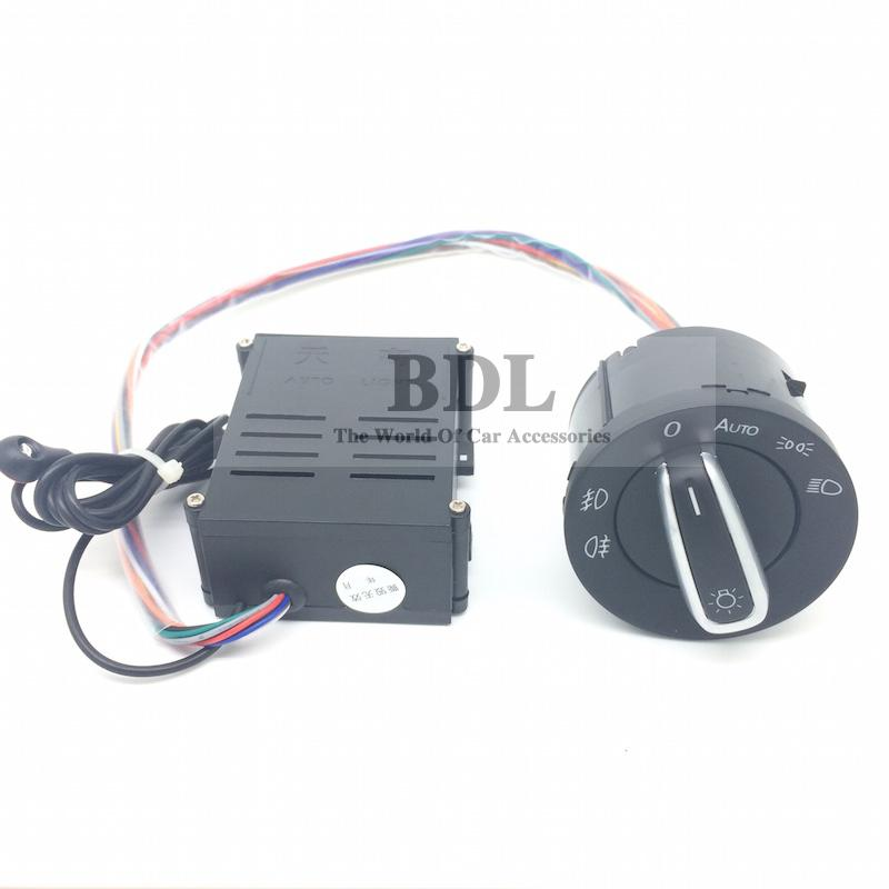New Version Auto Headlight Light Sensor Switch For VW Golf MK4 4 IV Jetta MK4 MK6 VI Bora Polo Passat B5(China (Mainland))
