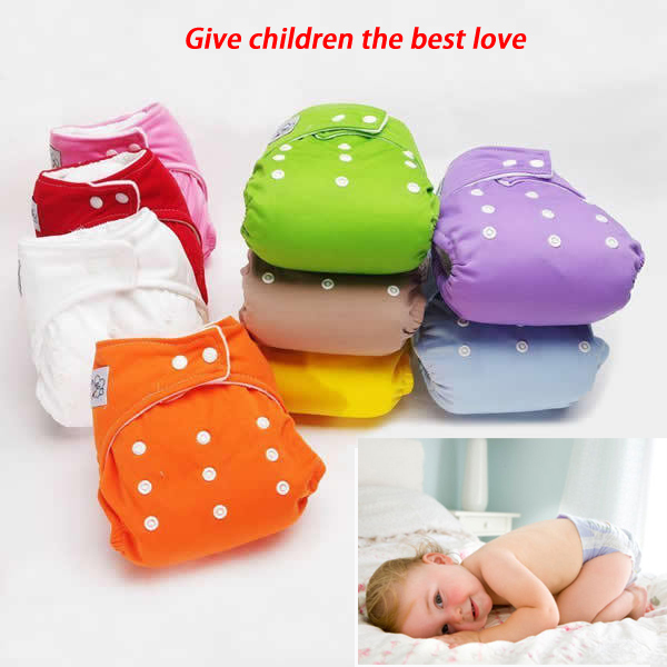Baby Newborn Diaper Washable Reusable nappies changing cotton training pant care flute diapers nappy imported cloth