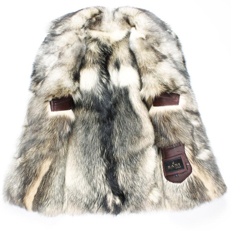 Mens Wolf Fur Coat - Tradingbasis