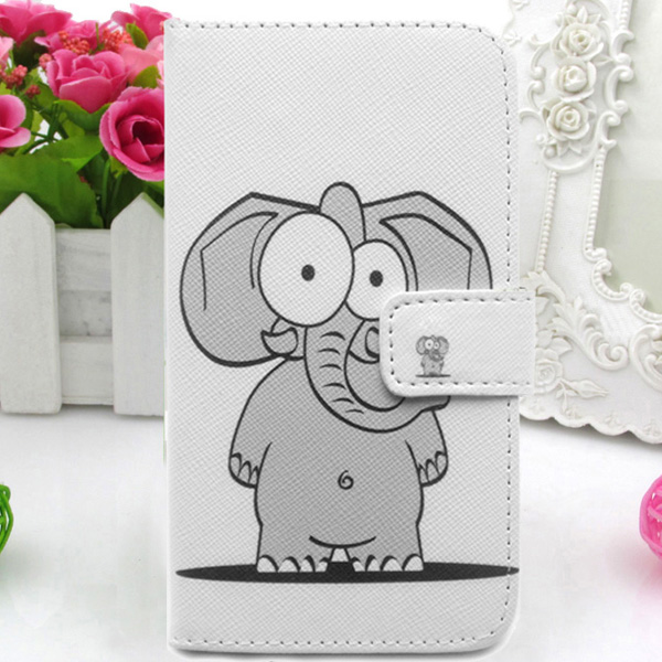 Leather Case Cover Card Holder Celular Mobile phone Bag Pouch Skin Protector Flip WA For Alcatel One Touch T Pop 4010 4010D(China (Mainland))