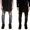 2016 Newest TOP kanye west yeezy season 3 OVERSIZE Men's t shirt hiphop yeezus Brand Fashion extension tee black khaki 5 colors