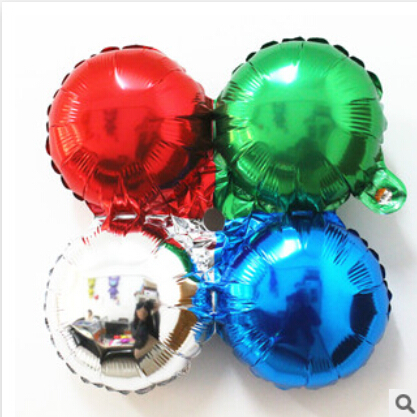 10 pcs 1 ball 4 colors kawaii petals aluminum film air balloons birthday party arranged decorative foil balloon wholesale(China (Mainland))
