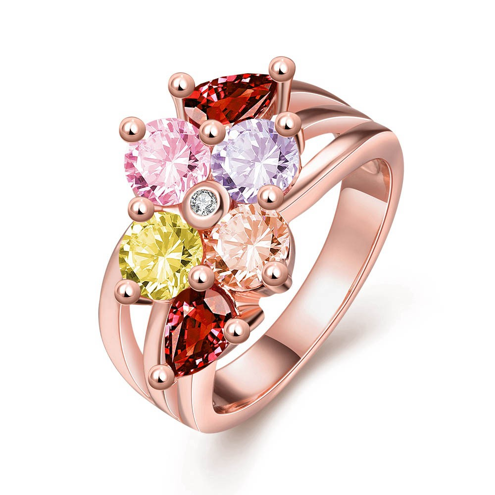 get cheap multi colored engagement rings