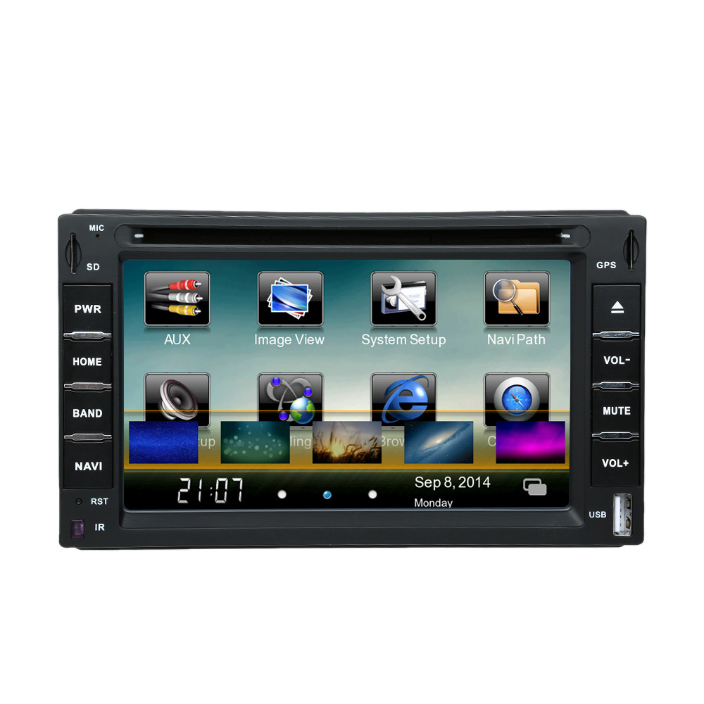 WIFI 3G 6 inch 2 Din Car DVD Players GPS Navigation Bluetooth Car Autoradio Touch Screen Multimedia for Toyota VW BMW Honda Opel(China (Mainland))
